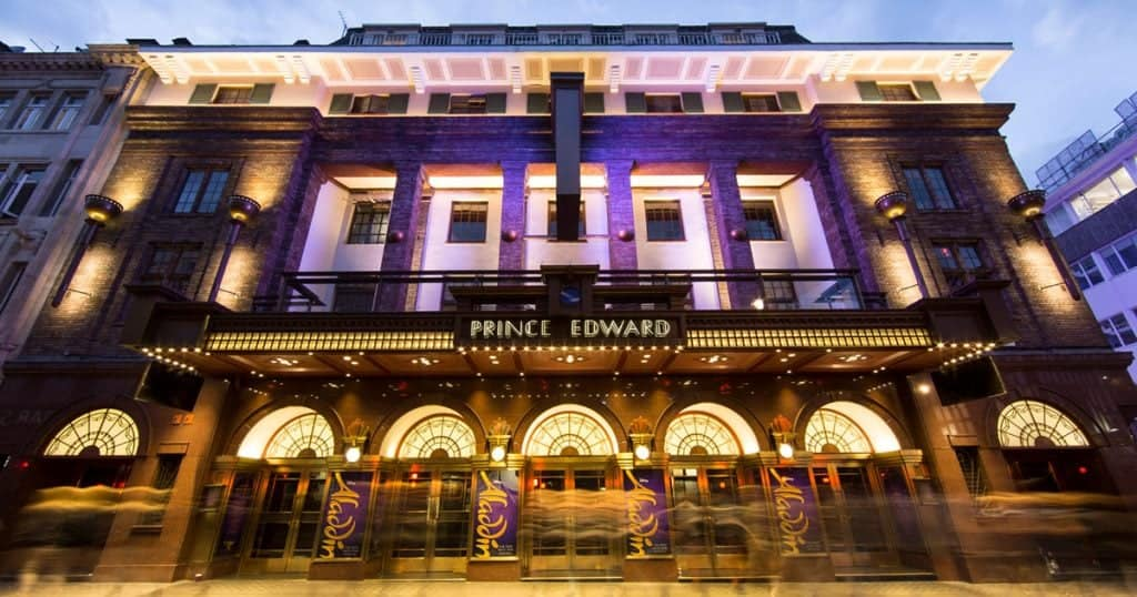 Prince Edward Theatre London - Building Servicer